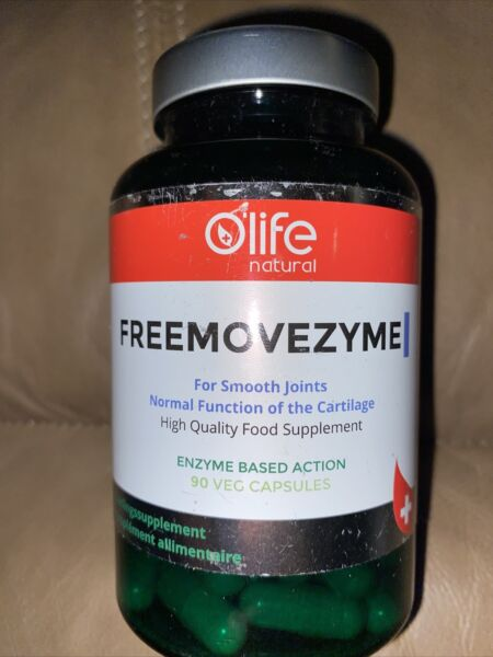 Freemovezyme Olife Natural For Smooth Joints 90 Veg Caps US Seller Exp 3 20 Read $28.99