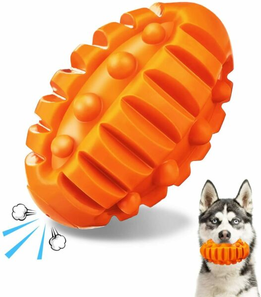 Dog Toys for Aggressive Chewers Indestructible Dog Chew Toys Squeaky BEEF FLAVOR $16.98