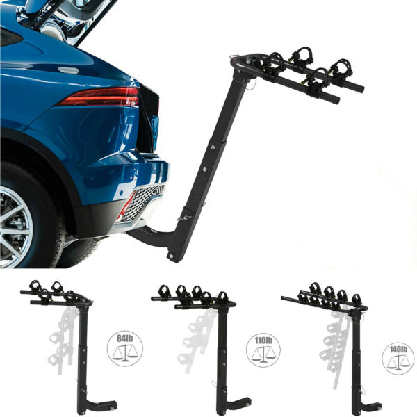 VILOBOS 2 3 4 Bike Rack Hitch Mount Folding Bicycle Carrier 2quot; Receiver Car SUV $68.99