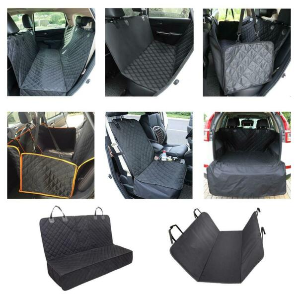 8 Kinds High Quality Pet Dog Seat Hammock Cover Car Suv Van Rear Protector Mat $18.49
