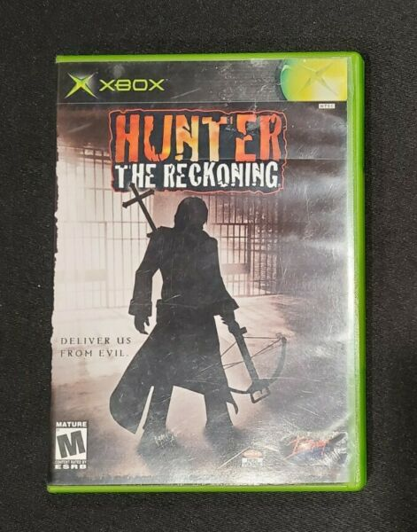 Hunter: The Reckoning Microsoft Xbox 2002 *FAST SHIP * Great Condition $12.49