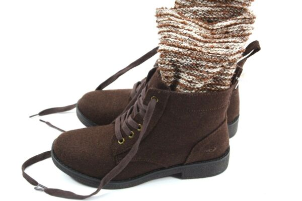 Rocket Dog size 7 Lace Up Knit Combat Ankle Boots NEW $32.00