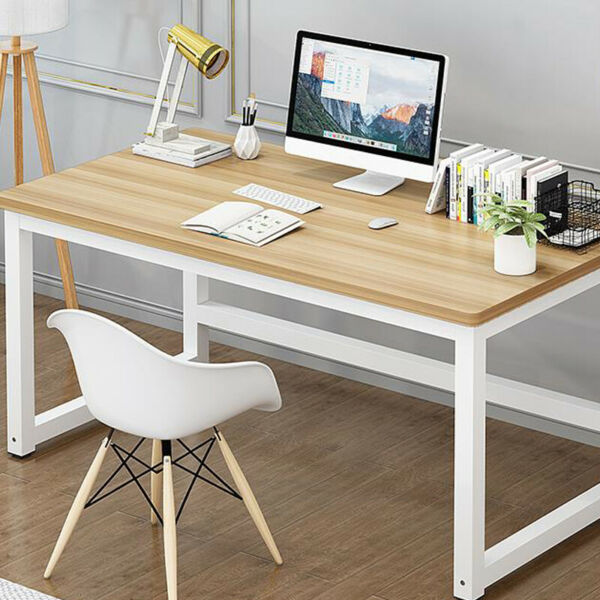 Office Wood Computer Table Home Study Desk Modern Furniture Workstation US $56.99