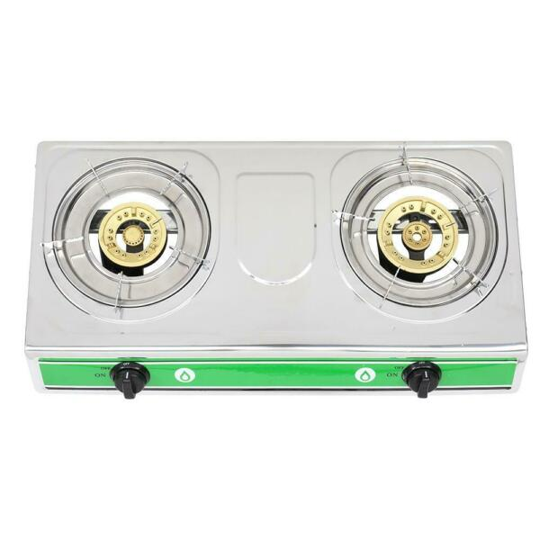 Portable Propane Gas 2 Burner Stove Dual Burners Cook BBQ Grill Stoves Camping
