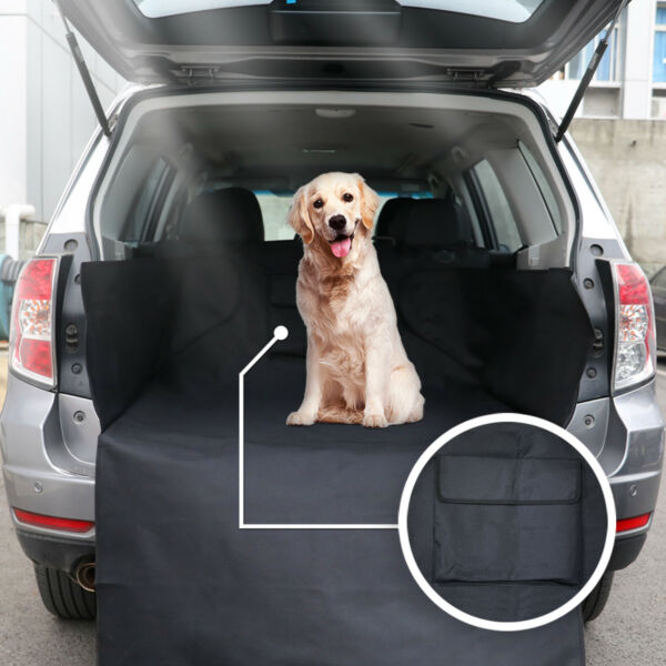 600D Oxford Waterproof Pet Cargo Liner Dog Seat Back Cover Trunk Mat Bumper Flap $15.99