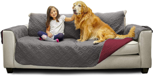 Mary Maxim Furniture Covers Quilted Couch Slipcover And Furniture Protector Fo $29.35