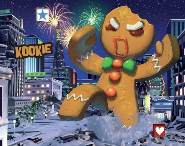 Kookie Promo Monster for King of Tokyo and King of New York IELLO NEW $31.95