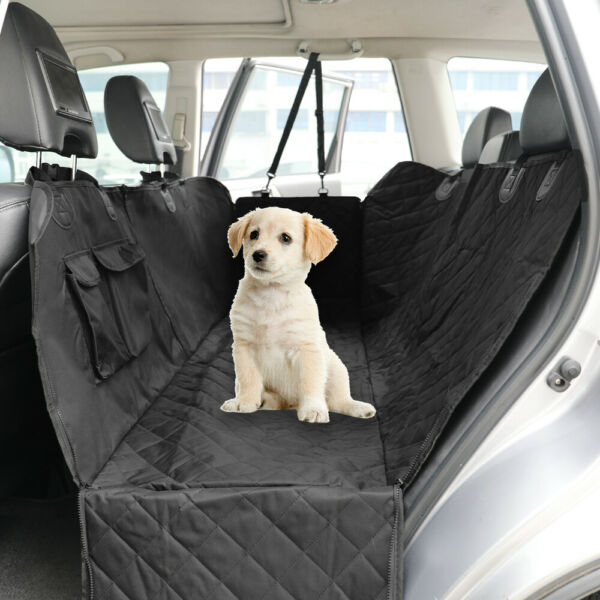 Waterproof Car Pet Dog Seat Cover Rear Back Hammock Travel Bench Protector Mat $18.99