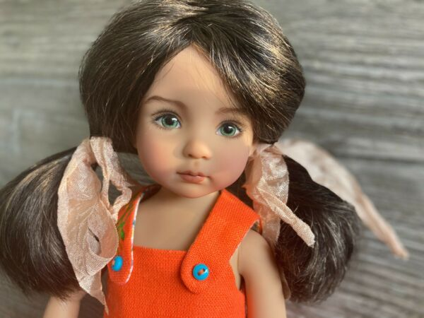 7 8quot; Mohair Wig for Little Darling Dianna Effner Dolls BJD Dolls