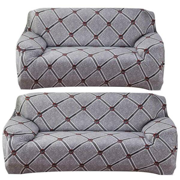 Universal 2 3 Seater Sofa Cover Slipcover Stretch Settee Couch Protector Home $34.10