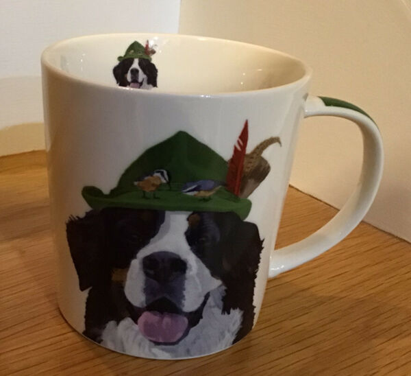 PPD Trend Mug Dog 🐶 Two Can Art Bone China Mug $14.99