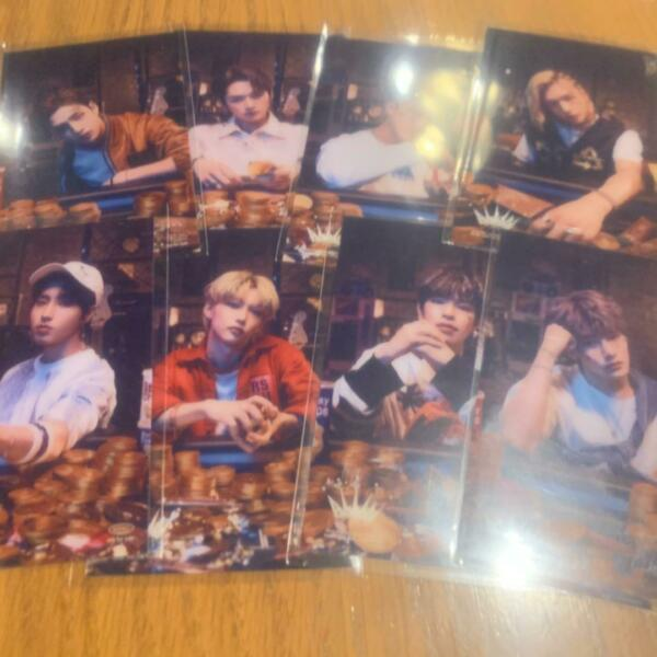 Stray Kids ALL IN Purchase Benefit TOWER RECORDS Official Clear card