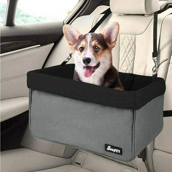 JESPET Dog Booster Seats for Cars Portable Dog Car Seat Travel Carrier $34.00