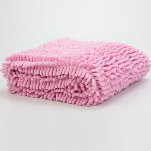 Microfiber Dog Cat Towel Chenille Soft Ultra Absorbent Quick Dry Pet Bath Towels $20.35