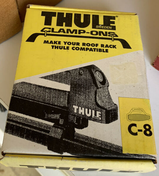 Thule Clamp Ons C8 Thule Car Rack System $9.74
