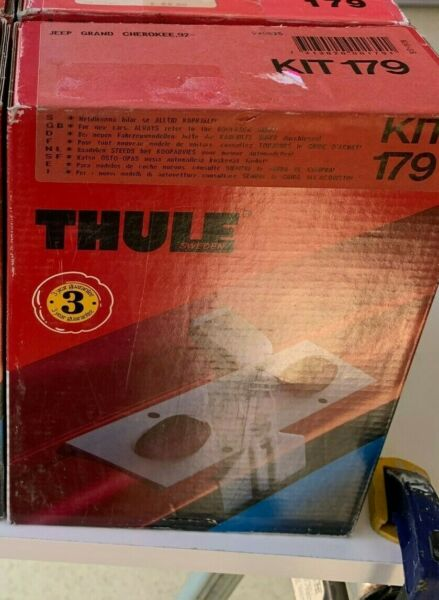 Thule Kit #179 Thule Car Rack System Jeep Grand Cherokee 1992 $26.99
