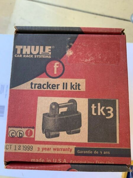 Thule TK3 Tracker Kit 3 Thule Car Rack System $16.49