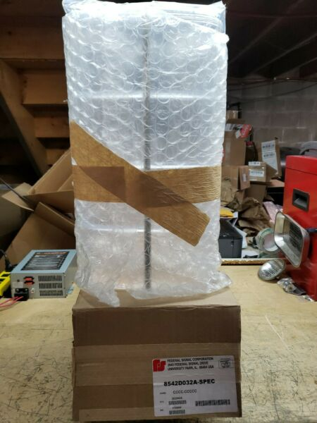 Federal Signal 4 panel CLEAR aerodynic dome Brand New 2 available