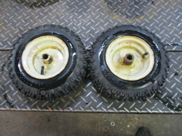 SIMPLICITY 755 SNOWBLOWER WHEELS AND TIRES 4.10 6