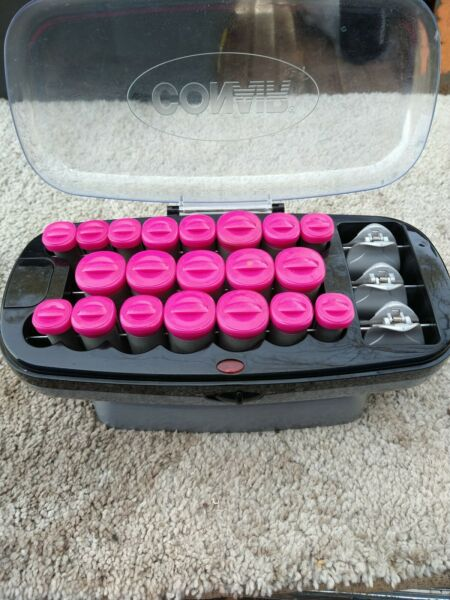 Conair Xtreme Instant Heat 20 Ceramic Flocked Rollers 20 Heated Clips $14.99