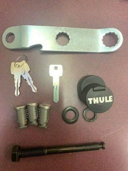 Thule STL2 Snug Tite Lock for Hitch Rack With 3 Thule 544 one key system locks $49.99