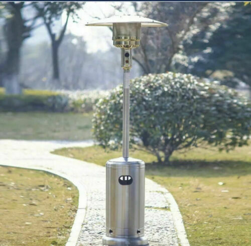 Hampton Bay 48000 BTU Stainless Steel Patio Heater FAST FREE SHIPPING