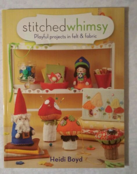 Stitched Whimsy Embellished Fabric amp; Felt Accessories Accents amp; Gifts $9.95