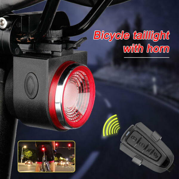 BIKE Smart Turn Remote Wireless Control Taillight Remote LED Bicycle Rear Light $27.59