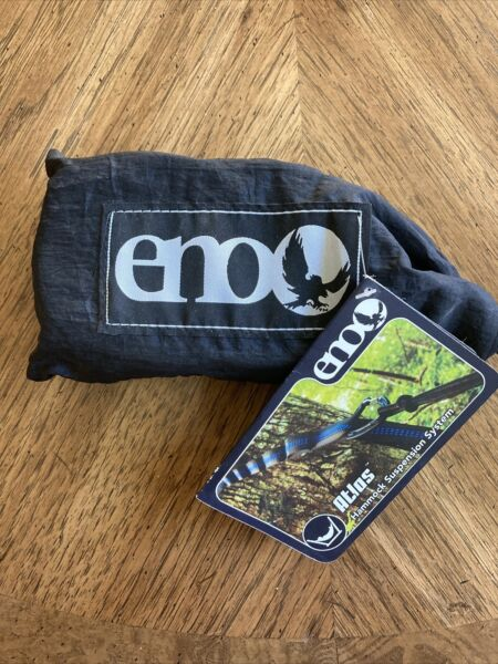 ENO Eagles Nest Outfitters Atlas Hammock Straps Suspension System Black $30.00