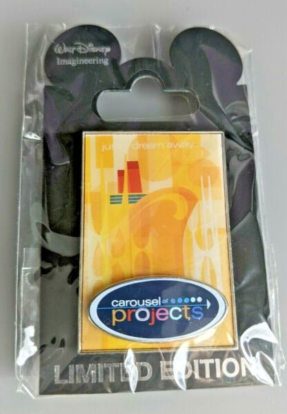 WDI MOG D23 Expo 2011 Carousel of Projects Logo Yellow Pin 86182