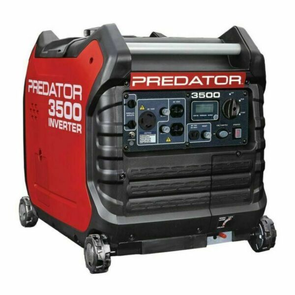 Predator Inverter Generator 3500 Watt Similar to Honda Generator EU3000is