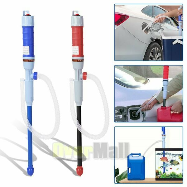 Electric Water Siphon Pump Liquid Transfer Gas Oil Fish Tank Battery Operated US $14.59