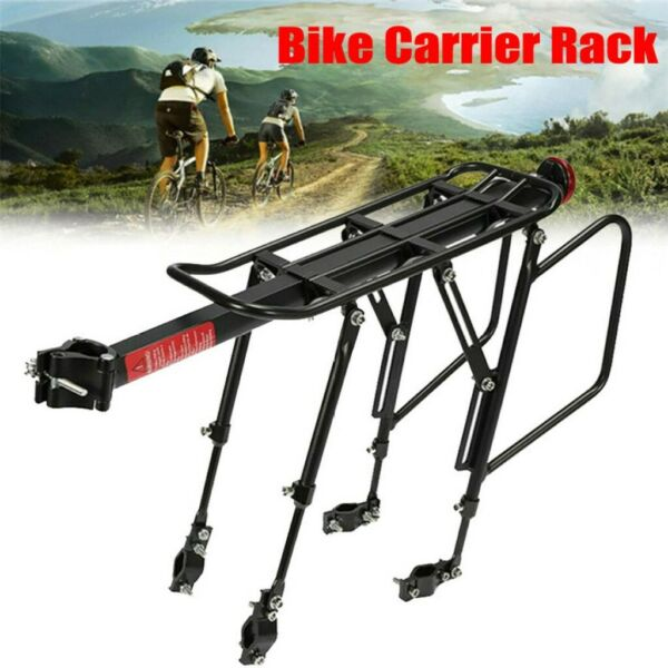 Bicycle Cargo Rack Bike Carrier Rack Quick Release Mountain Road Cycle Rear Rack $20.99