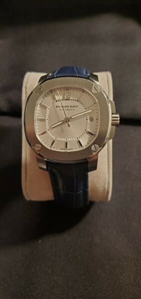 Burberry The Britain BBY1600 Automatic 38mm Watch New Burberry Strap $900.00