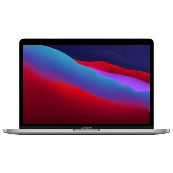 Apple MacBook Pro 13.3quot; Laptop M1 Chip 8GB 256GB SSD Space Gray MYD82LL A 2020