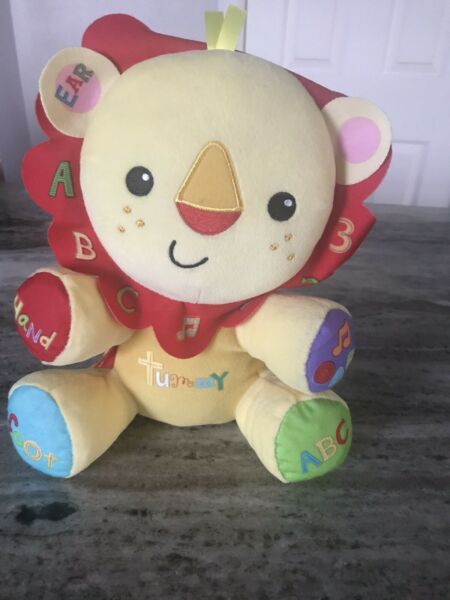 Fisher Price Learning Lion For Baby And Toddler BRAND NEW $25.00
