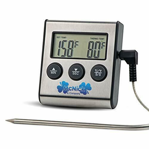 #1 Digital Meat Thermometer BBQ Meat Thermometer Meat Thermometer for Grilli