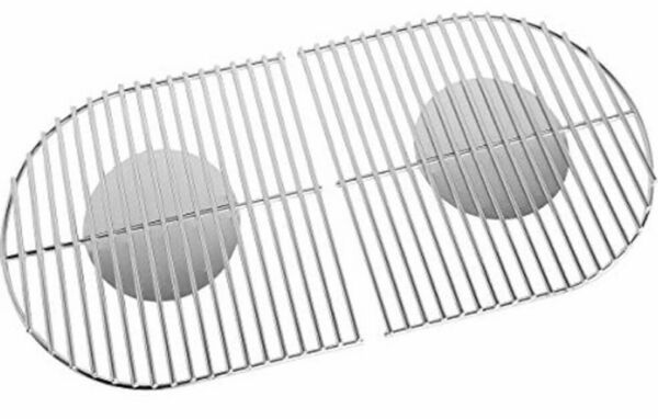 2 Stainless Grill Cooking Grates For Coleman Roadtrip Swaptop Grills LX LXE LXX