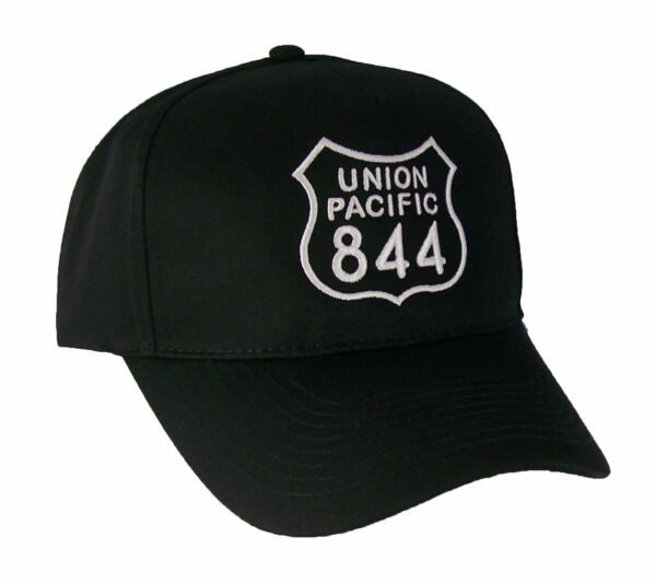 Union Pacific Railroad Living Legend #844 Embroidered Railway Cap Hat #40 0844