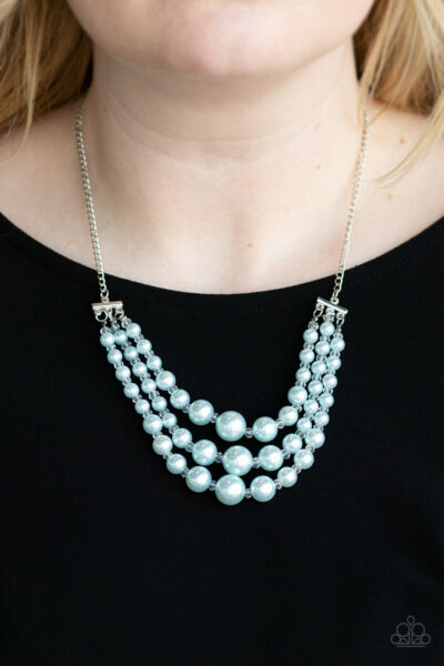 Paparazzi Jewelry Necklace Spring Social Blue