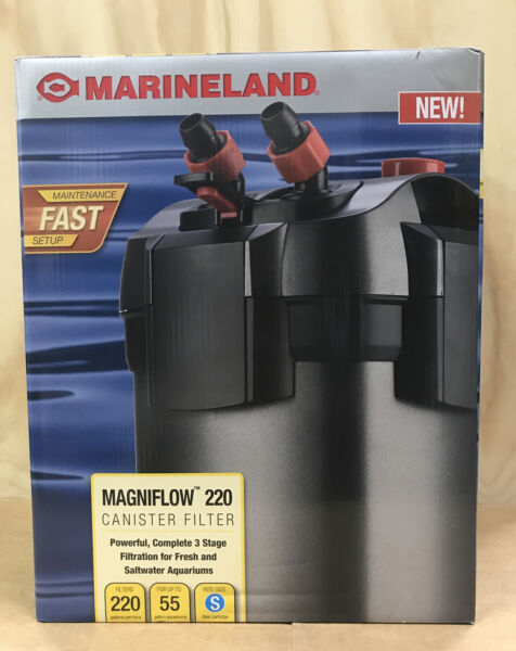 Marineland Magniflow Canister 220 for Aquarium Up to 55 Gal NEW $70.00