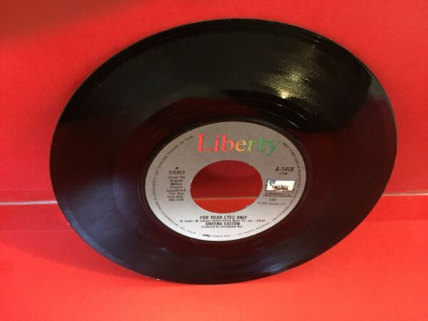Sheena Easton For Your Eyes Only 45 RPM $6.99