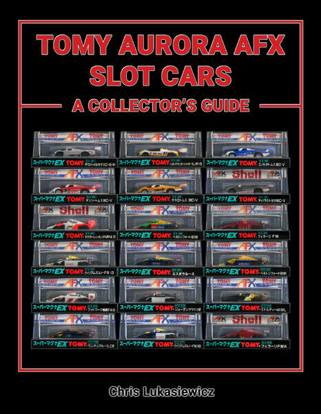 TOMY AURORA AFX SLOT CARS A COLLECTOR#x27;S GUIDE