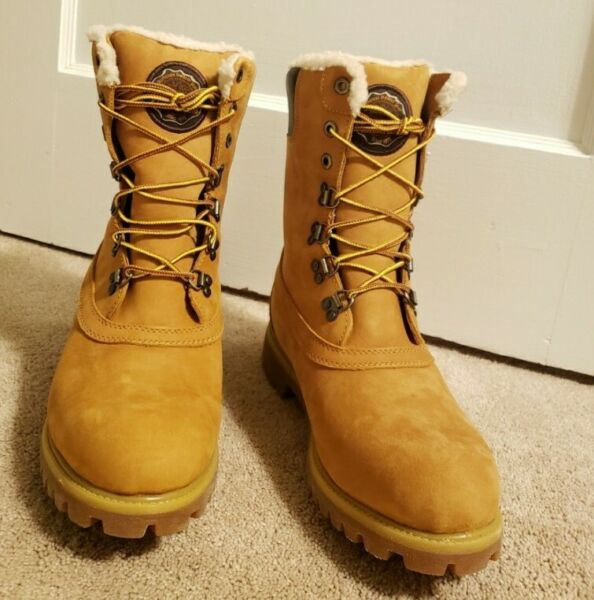 Timberland Winter Lug Lace Up Men#x27;s Boots Brand New Size 10 $225.00