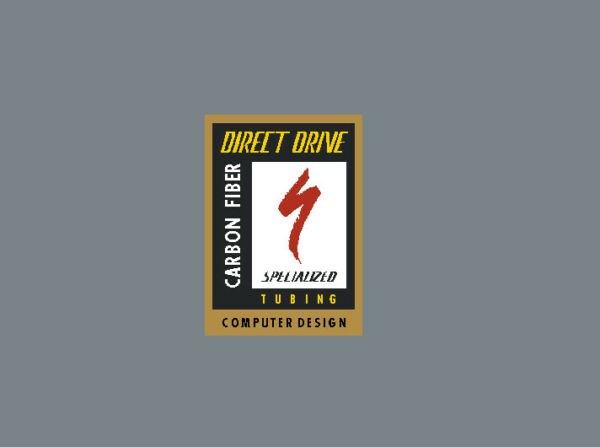 Specialized Direct Drive Carbon Tubing Decal sku Spec813 $9.95