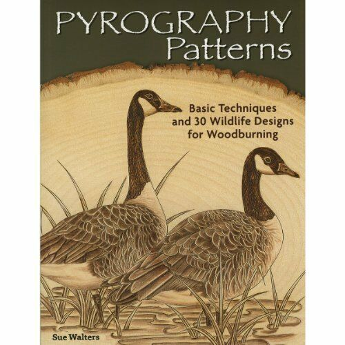 Pyrography Patterns: Basic Techniques and 30 Wildlife Designs for Woodburning…