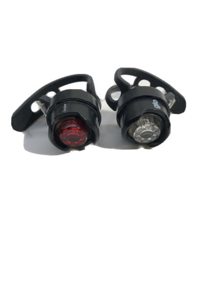 Blackburn Bike Lights; White quot;GLOquot; Front Red quot;Emberquot; Rear; Bright Flashing $14.95
