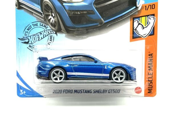 2021 A Case Hot Wheels 2020 Ford Mustang Shelby GT500 w Real Riders SUPER CUSTOM $17.99