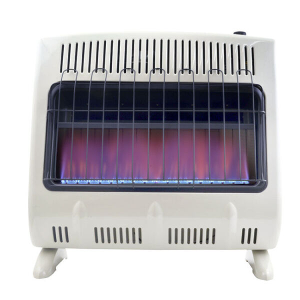 Mr. Heater 30000BTU Vent Free Blue Flame Natural Gas Heater with Built In Blower $299.99