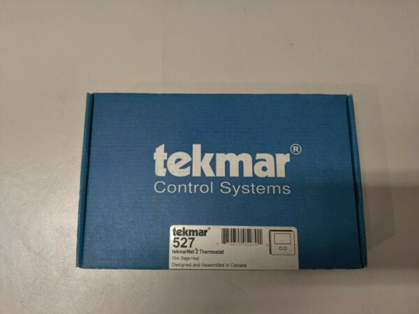 TEKMAR 527 THERMOSTAT ONE STAGE HEAT $36.95